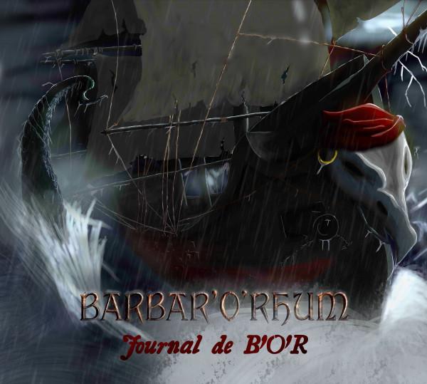 barbar'o'rhum, journal de b'o'r, toulouse, france, pirate metal, folk metal, rock'n'rhum, punk celtique