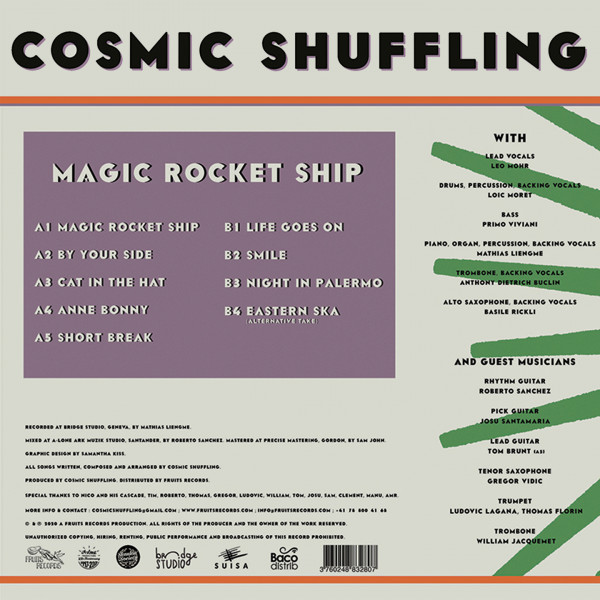 Cosmic Shuffling, Magic Rocket Ship, Fruits Records