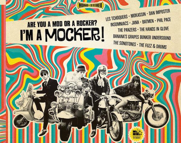 Are you a mod or a rocker ? I'm a mocker !
