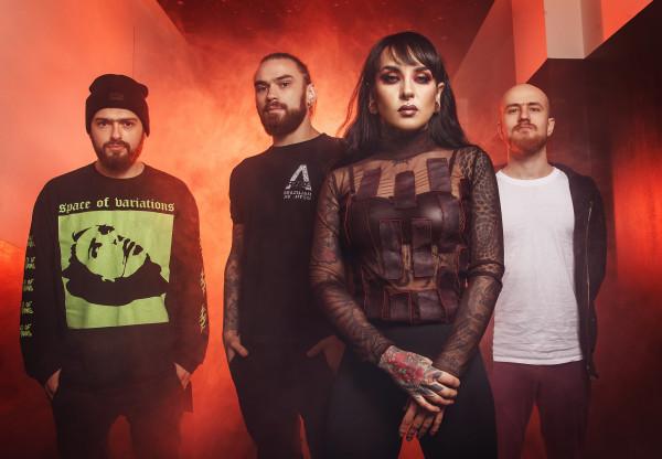 jinjer, alive in melbourne, metal progressif, metal alternatif, tatiana schmaylyuk