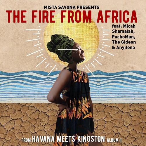 Visuel The Fire From Africa - Havana meets Kingston