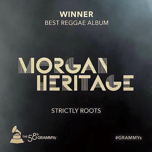 Visuel Grammy Awards - Morgan Heritage/Bost&Bim