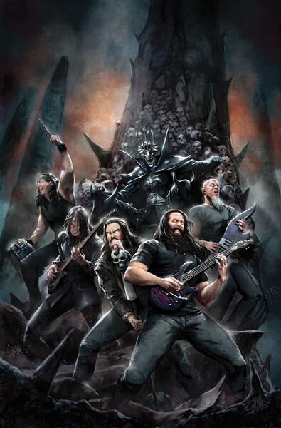 Batman, DC comics, Megadeth, Ghost, Sepultura, Ozzy Osbourne
