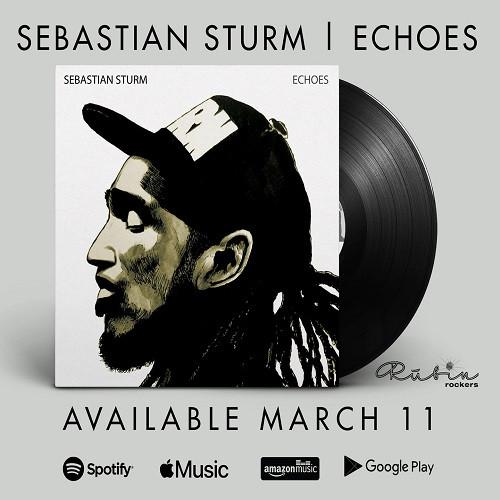 Visuel Echoes - Sebatian Sturm - Sortie le 11 mars