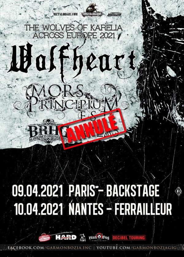 Wolfheart, annulation concerts, 2021, death metal mélodique,