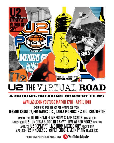 U2 : The Virtual Road