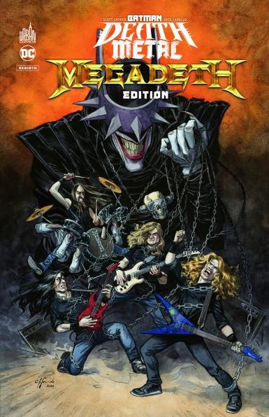 Batman, Megadeth, DC Comics, Ghost, Sepultura, Dream Theater, Ozzy Osbourne