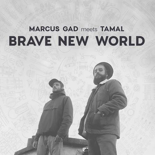 Visuel brave New World - Marcus Gad meets Tamal