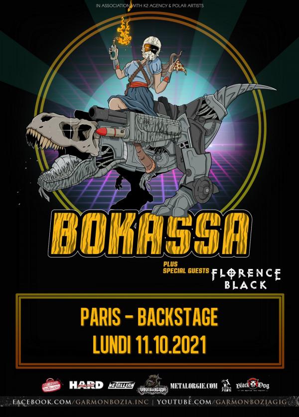 2021, concert, paris, garmonbozia, bokassa, florence back, o'sullivan's backstage by the mill