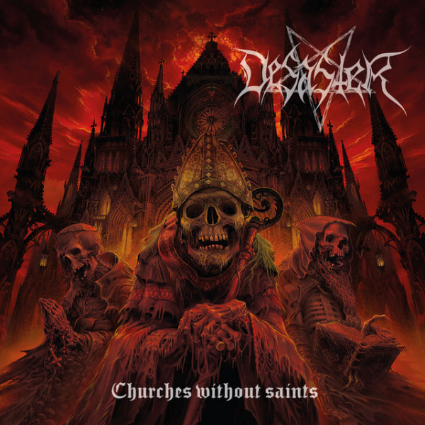 Desaster, nouvel album, Churches Without Saints, nouveau single, Learn to Love the Void, metal blade records, 2021