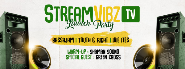 @Irie Ites Records    Stream Vibz Launch Party