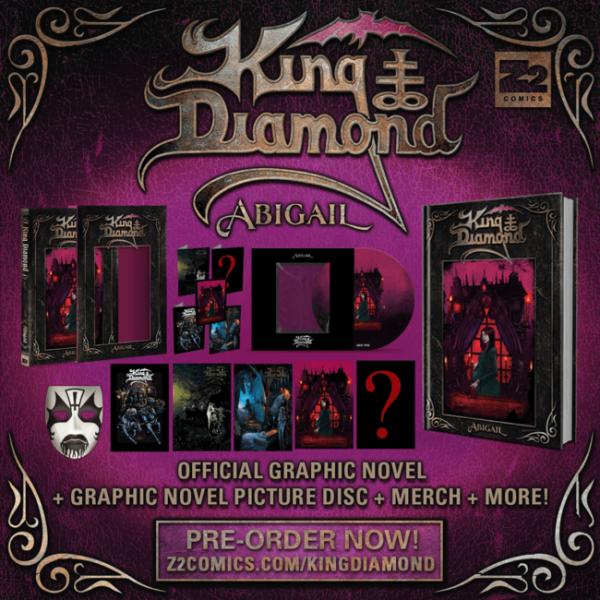 2021, album, abigail, king diamond, bd, zé comics