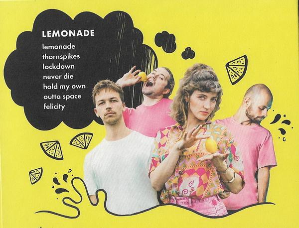 Guacáyo - Lemonade Pochette verso