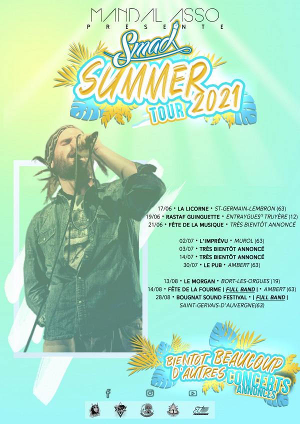 Artwork - Smad Summer Tour