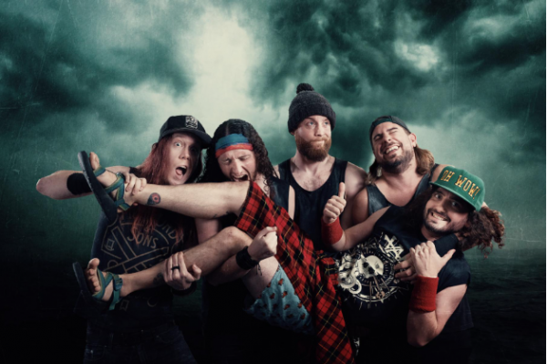 Alestorm, Live in Tiburg, 2021, album live, Fucked with an Anchor, pirate metal