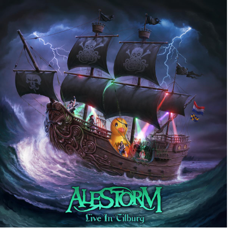Alestorm, pirate metal, Live in Tilburg, 2021, album live