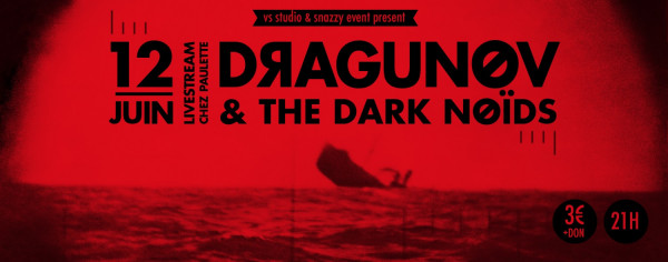 Dragunov, concert, 2021, live stream, Chez Paulette, post metal