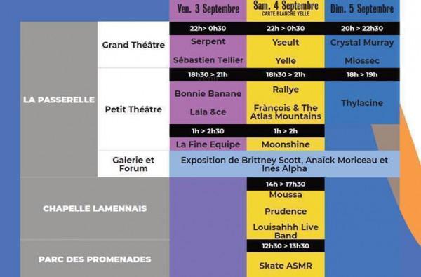 Art Rock Festival 2021 Vendredi