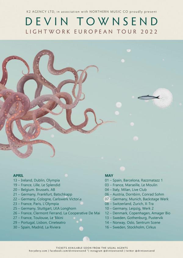 Devin Townsend, prog, metal, Empath, Ziltoïd
