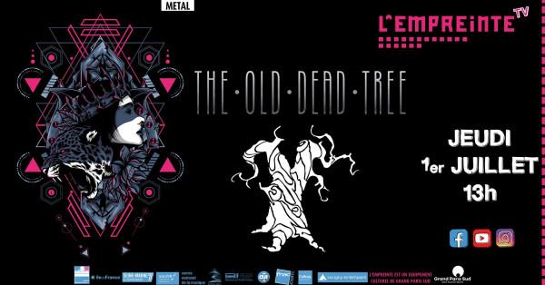 The Old Dead Tree, metal, 2021, Empreinte de Savigny-le-Temple, concert, live, captation live, Ellie promotion