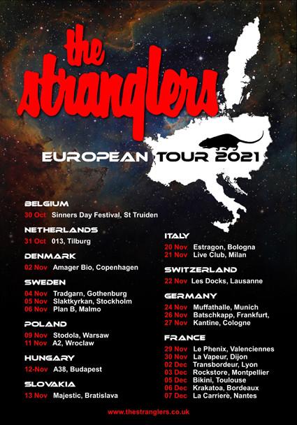 The Strangers, European Tour 2021,