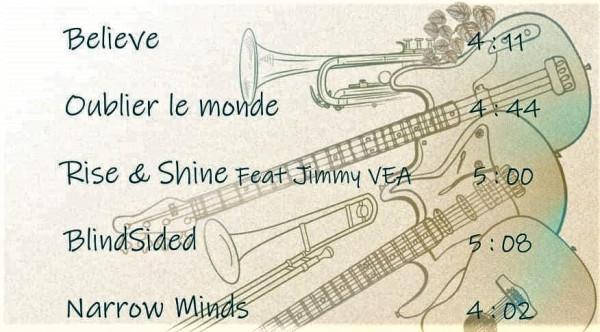 Mana - Rise & Shine track list