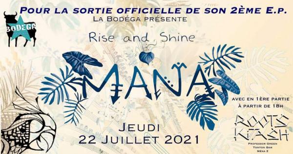 Mana - Rise & Shine sortie officielle