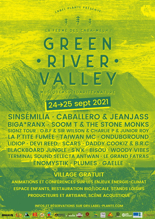 Affiche Green River Valley Festival