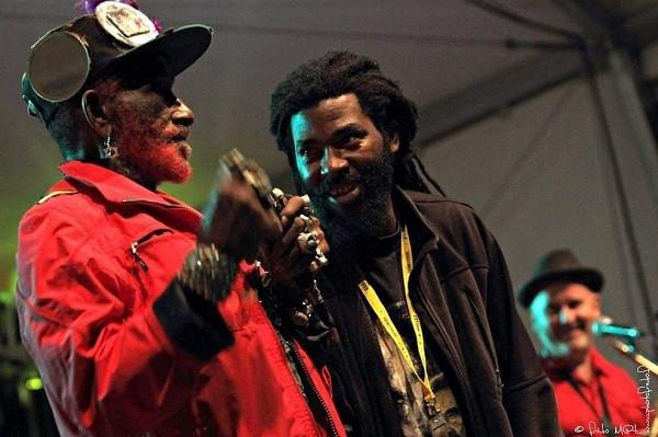 Lee Scratch Perry & Omar Perry - Photo Liv-I-Pix (Fredo Mat)