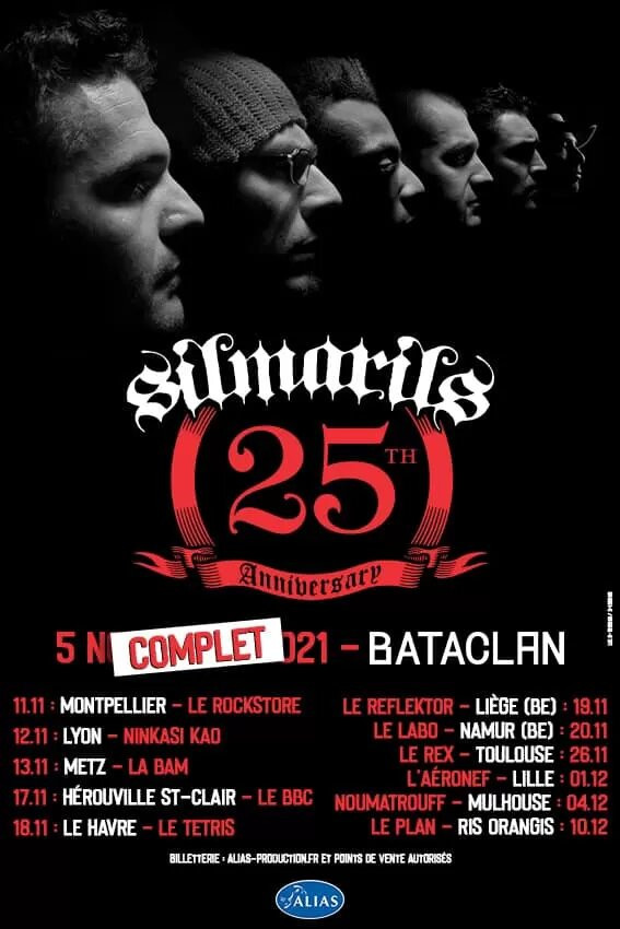 Silmarils, Tournée, 2021