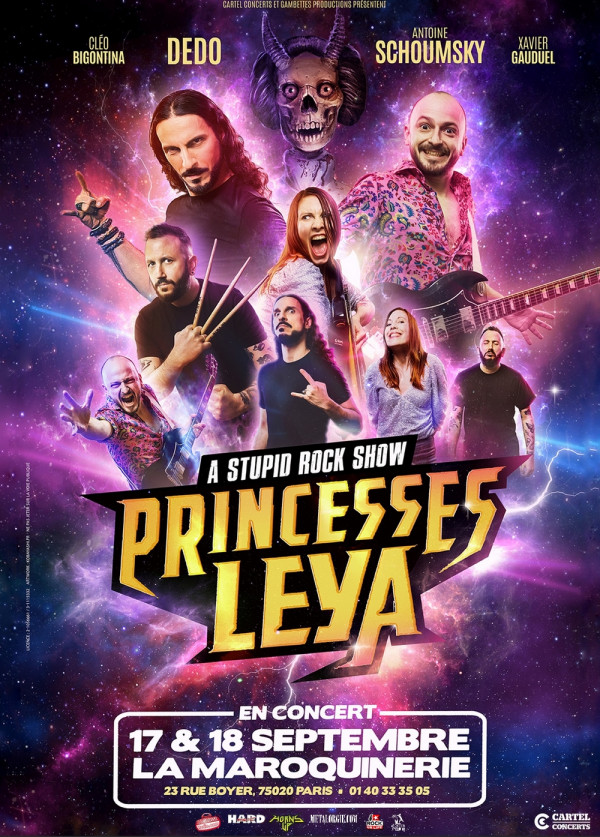 2021, concert, paris, la maroquinerie, princesses leya