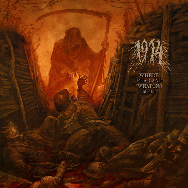 1914, Where Fear and Weapons Meet, nouvel album, 2021, blackened death