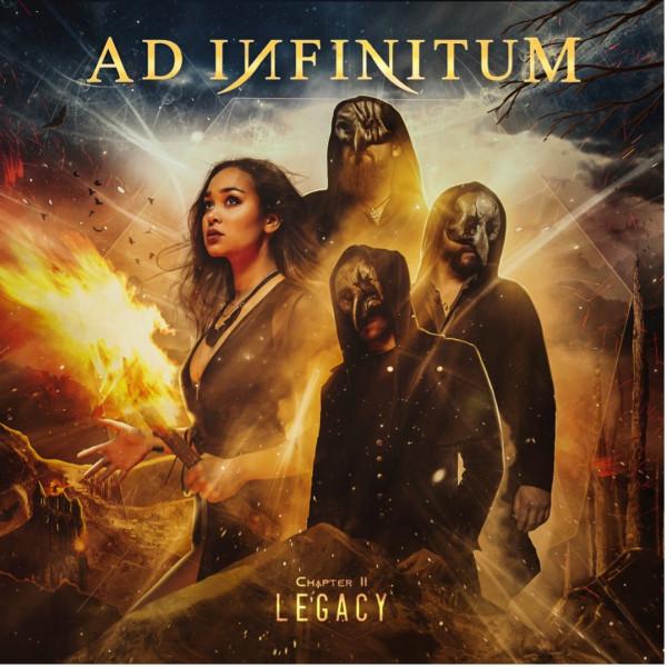 Ad Infinitum, Chapter II Legacy, deuxième album, 2021, metal symphonique