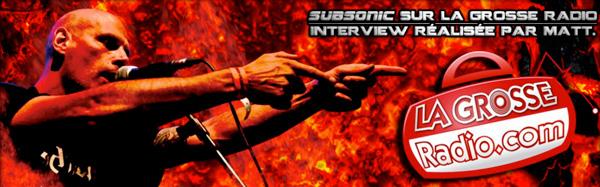 Interview audio de Subsonic