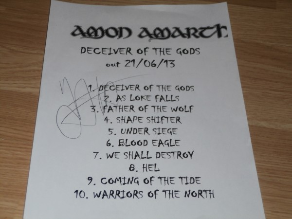 Amon Amarth 6971