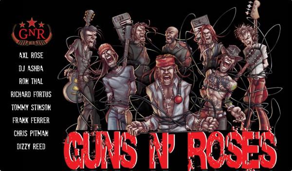 GUNS 'N' ROSES 7354