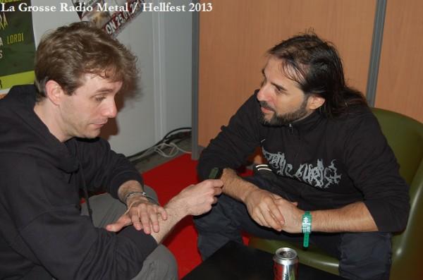 Rotting Christ interview, Hellfest 2013, la Grosse Radio