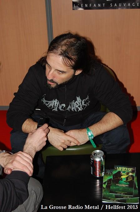 Sakis Tolis, Rotting Christ, interview Hellfest 2013, La Grosse Radio