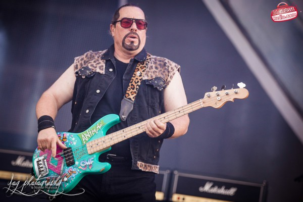 Twisted Sister, Hellfest, Clisson, Main Stage, Marco Mendoza