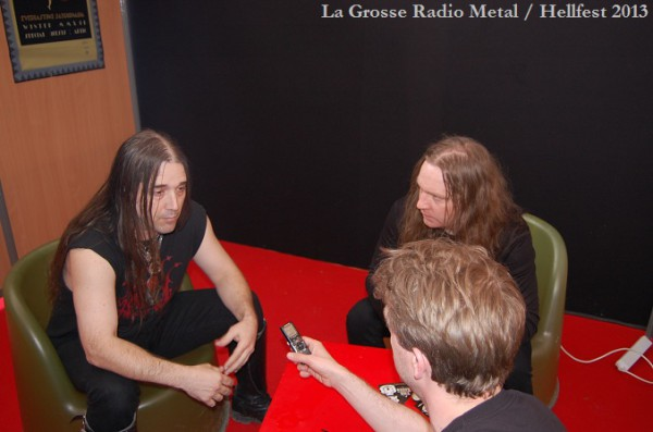Inquisition interview Hellfest 2013 La Grosse Radio
