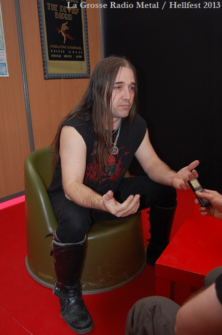 Dagon Inquisition interview Hellfest 2013 La Grosse Radio