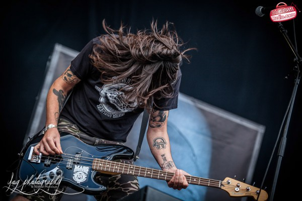 Mass Hysteria, Hellfest, Main Stage, Clisson, bassiste