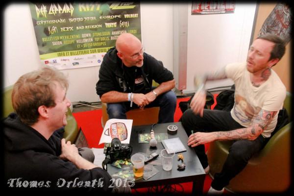 Audrey Horne, Interview, Hellfest, Toschie, LGR Metal
