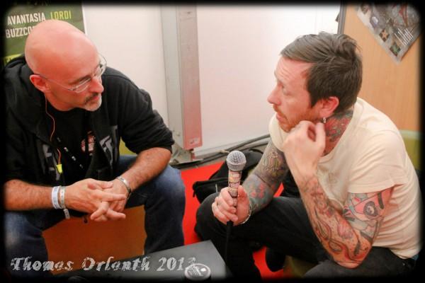 Audrey Horne, Hellfest, Interview, Toschie, LGR Metal