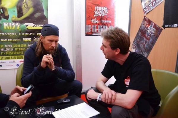 Tuomas Rounakari, violon, Korpiklaani, interview, Hellfest 2013, La Grosse Radio
