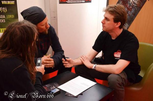 Tuomas Rounakari, violoniste, Korpiklaani, interview, Hellfest, La Grosse Radio