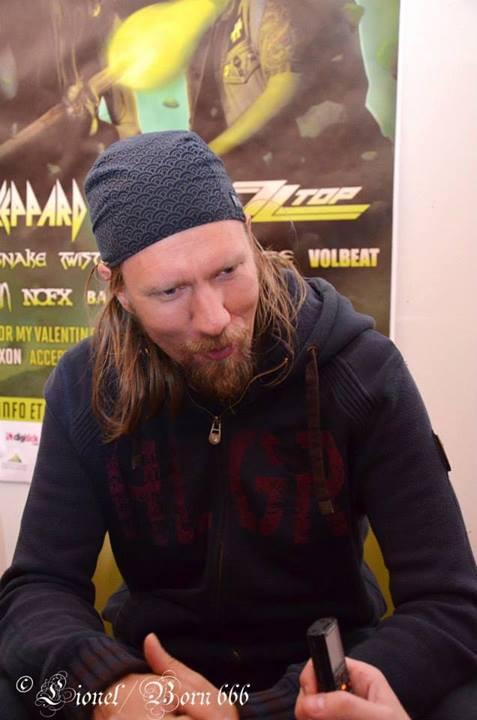 Tuomas Rounakari, Korpiklaani, Hellfest 2013, interview La Grosse Radio