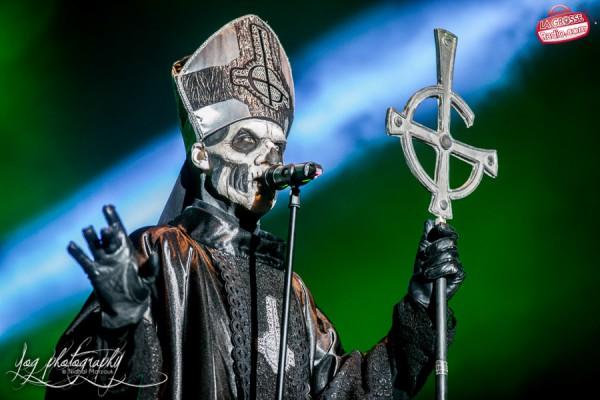 Ghost, Papa Emeritus II, Hellfest 2013, La Grosse Radio