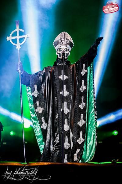 Papa Emeritus II, Ghost, Hellfest 2013, la Grosse Radio Metal