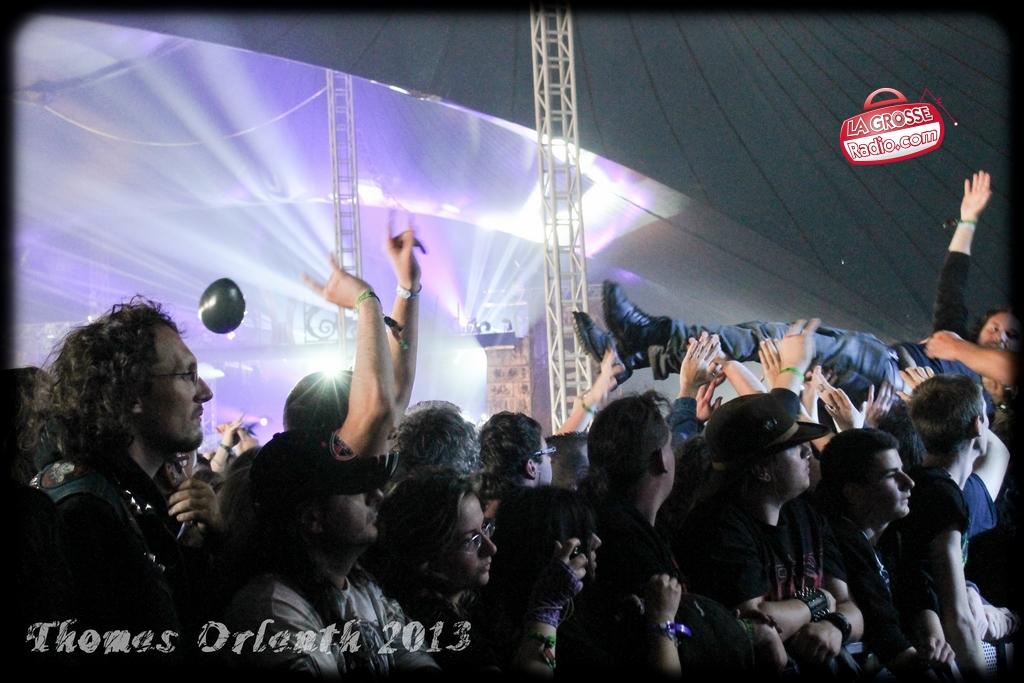 Korpiklaani Hellfest 2013